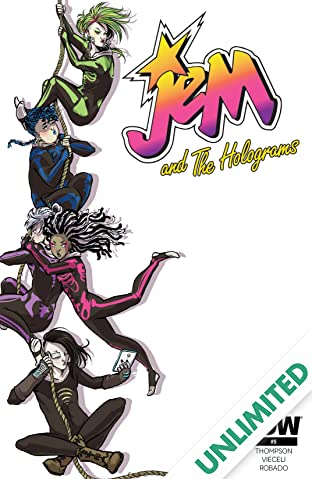 Jem and the Holograms (2015-) #9